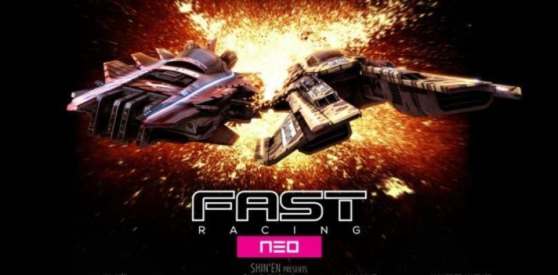 Un gameplay muestra una de las copas del DLC de FAST Racing Neo