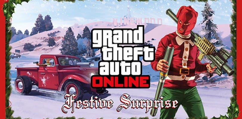 Llega la Navidad a Grand Theft Auto Online con un nuevo evento