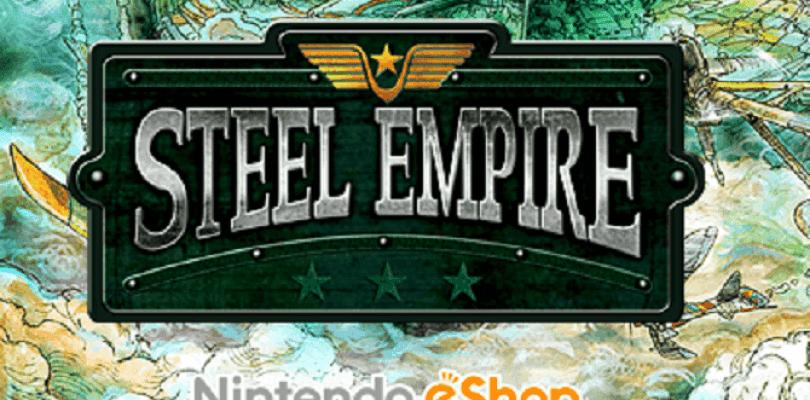 Steel Empire llega a la eShop la semana que viene junto con ofertas