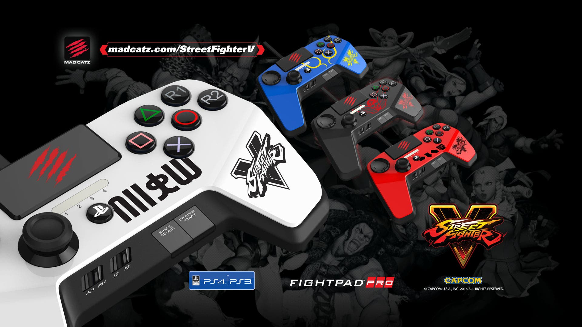 Street Fighter control 4