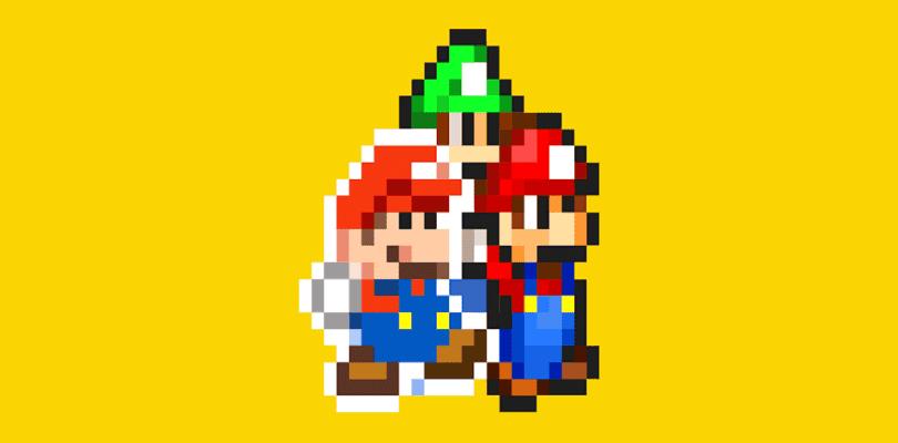 Ya disponible la fase de Mario & Luigi: Paper Jam Bros. en Super Mario Maker