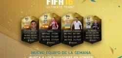 Ya disponible el Equipo de la Semana 14 de FIFA 16 Ultimate Team