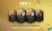 Ya disponible el Equipo de la Semana 13 de FIFA 16 Ultimate Team