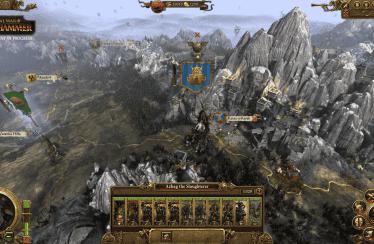 Total War: Warhammer empieza a mostrar sus escenarios