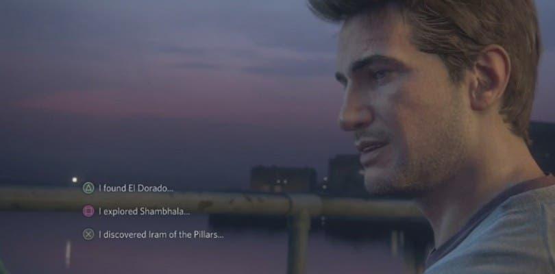 El nuevo vídeo de Uncharted 4: El desenlace del ladrón introduce las decisiones