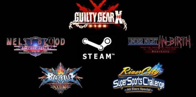 Varios juegos de Arc System Works llegarán a Steam