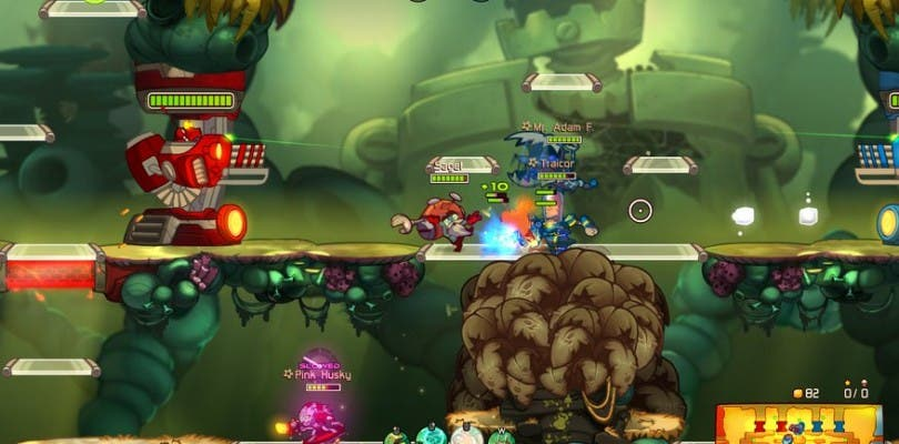 Ya disponible en Steam la beta de Awesomenauts: Overdrive