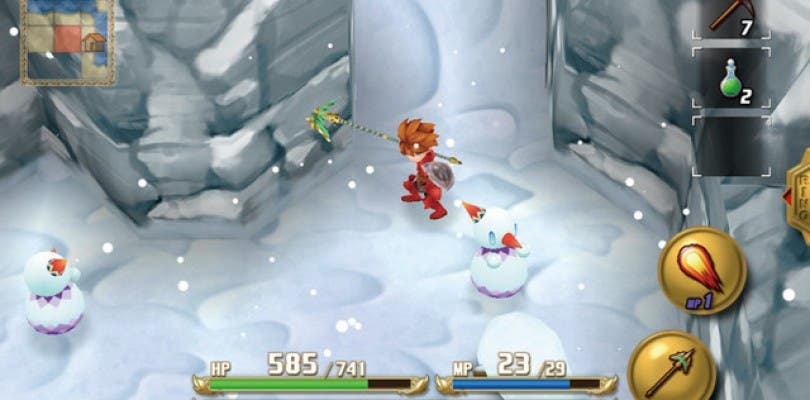 Primeras imágenes de Final Fantasy Adventure