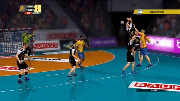 handball 16 gameplay