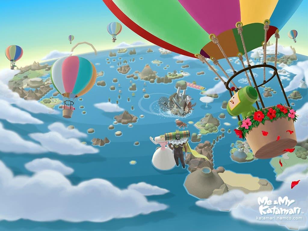 """Imagen de """"Tap my Katamari"""" es registrado por Bandai Namco"""