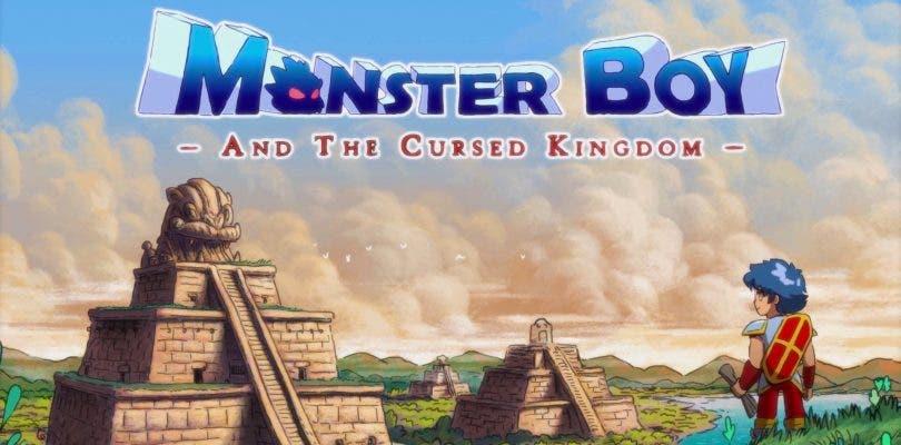 Nuevo gameplay de Monster Boy and the Cursed Kingdom