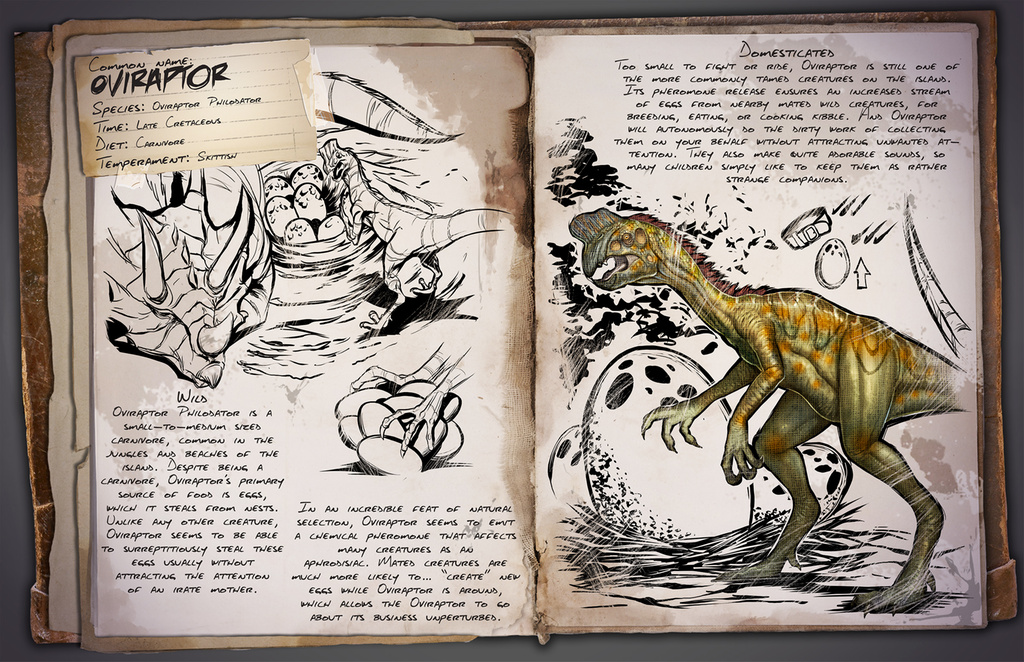 Imagen de ARK: Survival Evolved añade el Oviraptor a su lista de dinosaurios