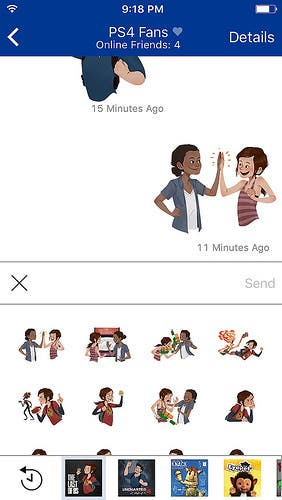 _playstation-messages stickers