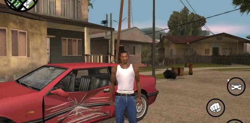 Comparacion Grafica Entre Gta San Andreas De Playstation 2 Y