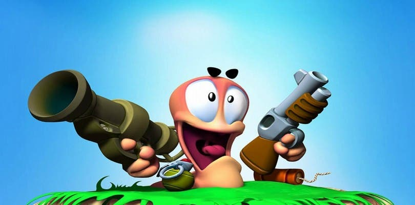 Worms Forts: Under Siege gratis en GOG