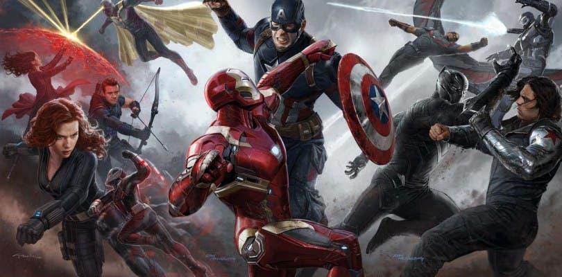 Un calendario nos deja ver nuevo arte promocional de Capitán América: Civil War