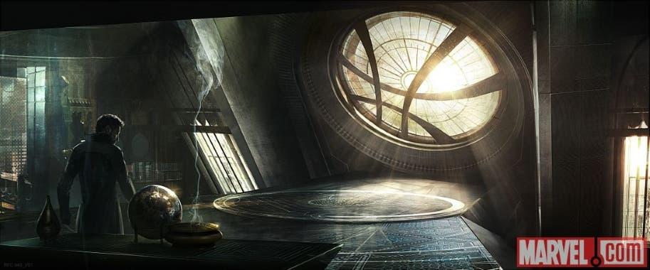 Areajugones Doctor Strange Sanctum Sactorum