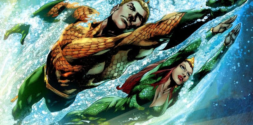 Se filtra una imagen del videojuego de Aquaman