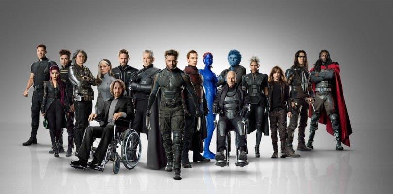Los actores del universo mutante de Fox juntos en una fotografía grupal