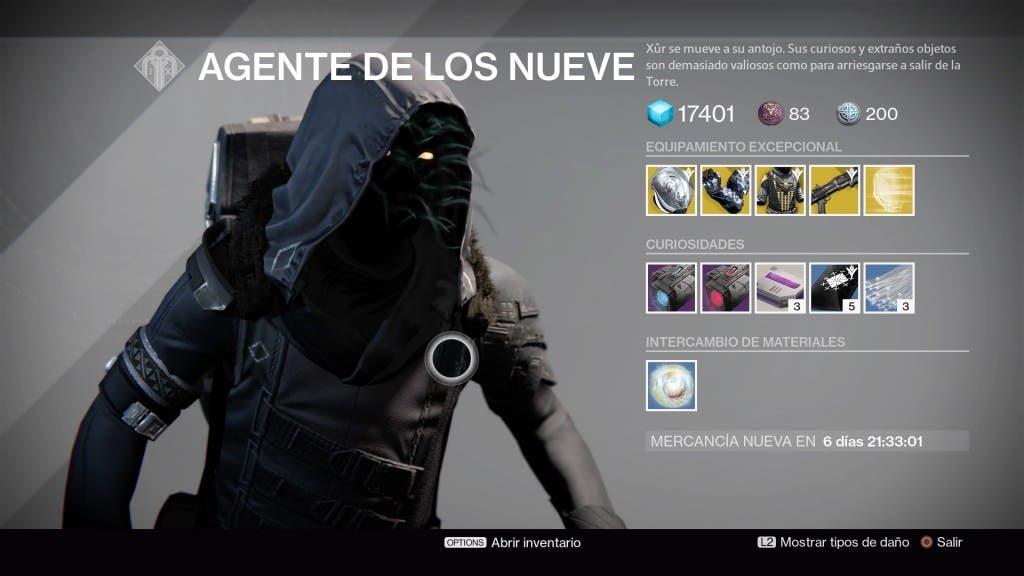 Destiny Xur010116