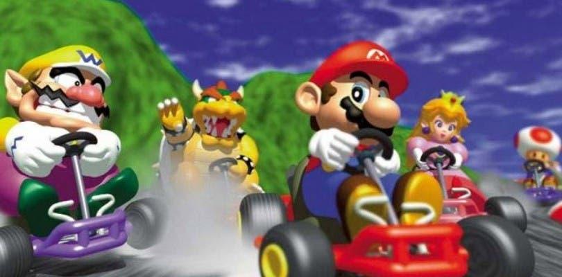 Comparan en vídeo Mario Kart 64 con Mario Kart 8