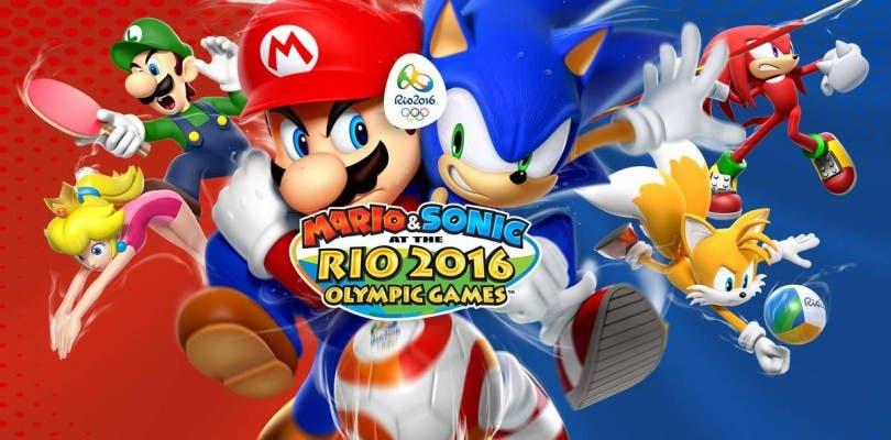 América ya tiene fecha de lanzamiento para Mario & Sonic en los Juegos Olímpicos de Río 2016