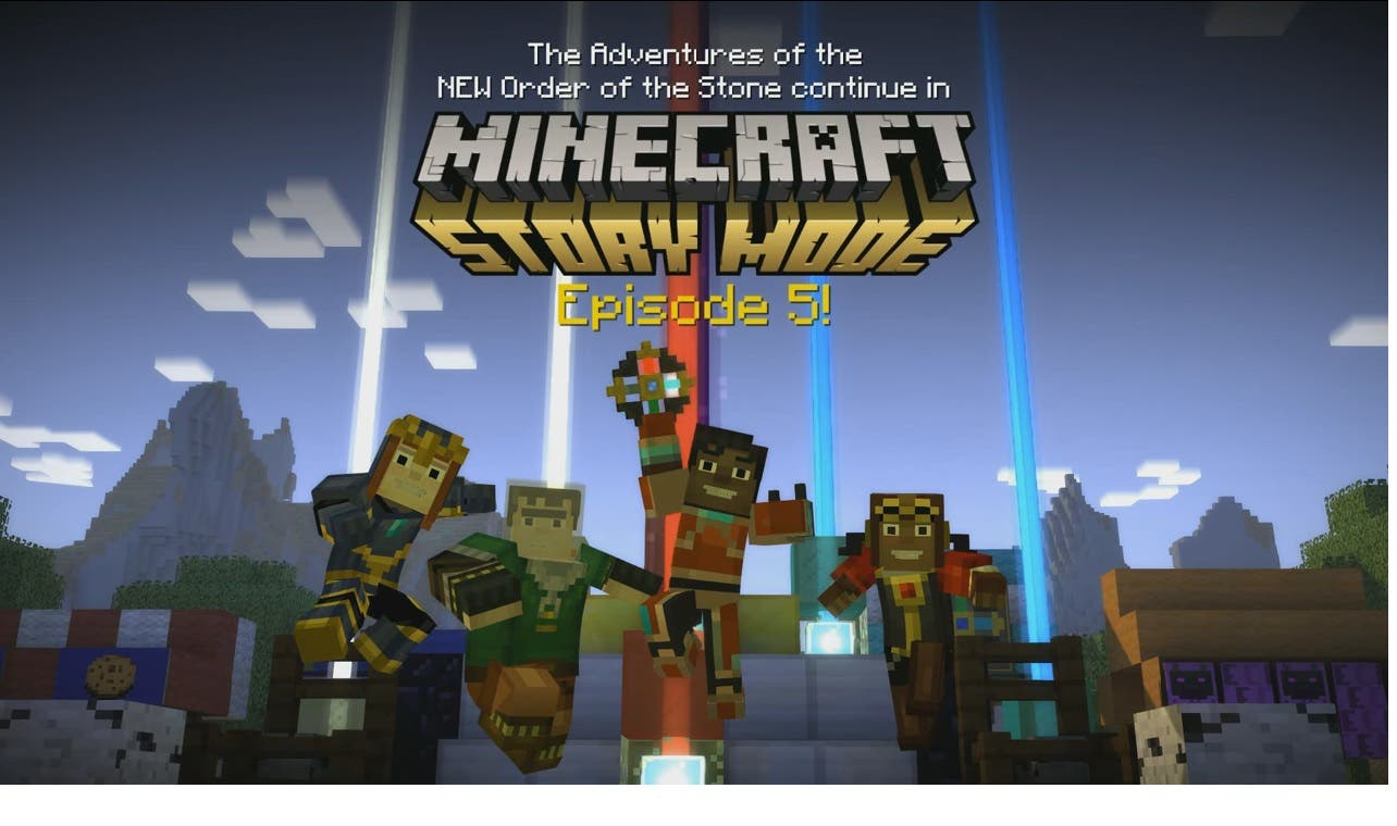 minecraft story mode ios 4pda