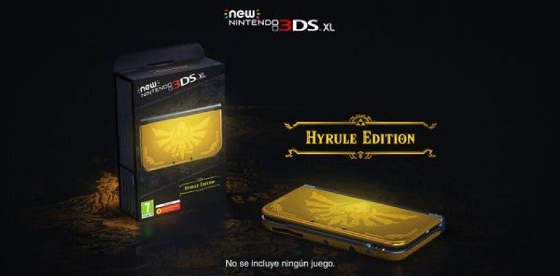 Nintendo anuncia New Nintendo 3DS XL Edición Hyrule