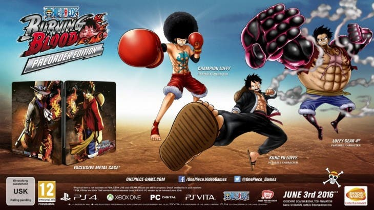 One Piece Burning Blood PreOrder Edition