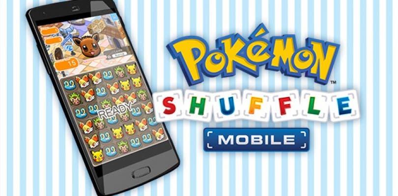 Pokémon Shuffle Mobile ya está disponible en nuestros smartphones