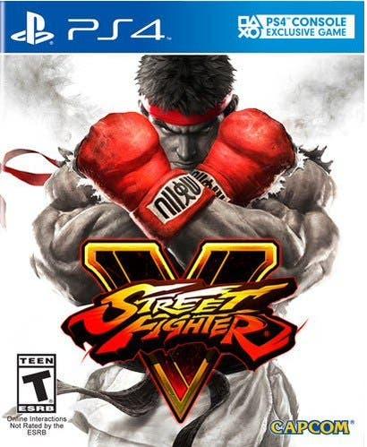 Sello Street Fighter V