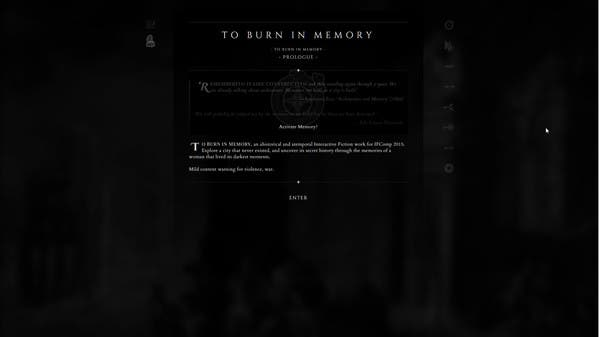 The Burn in Memory Steam Free to Play