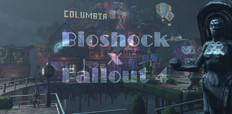 Fallout 4 se fusiona con BioShock Infinite en esta creación de una fan