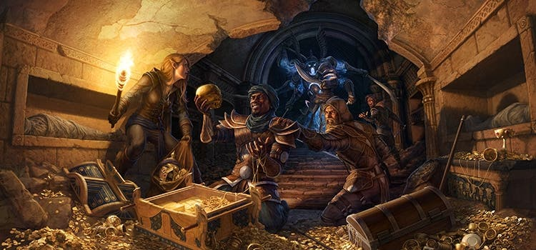 the elder scrolls online thieves guild