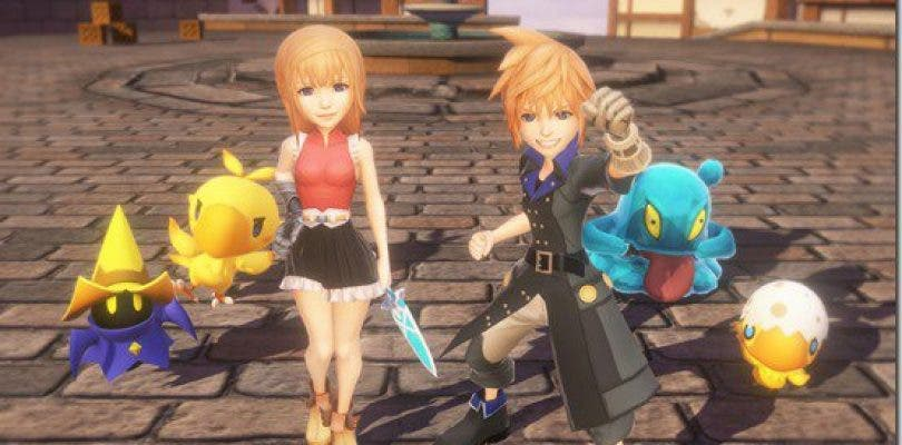 World of Final Fantasy se muestra en un bello gameplay