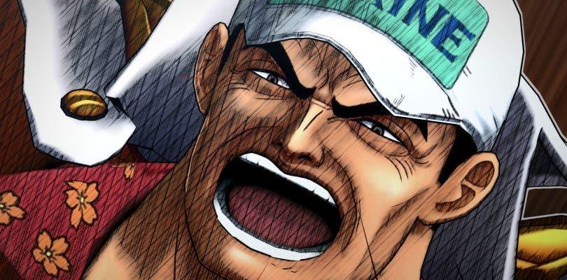 Los tres almirantes se muestran en One Piece: Burning Blood