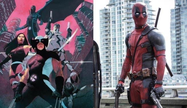 Deadpool en uno de los artworks de X-Force que protagonizó