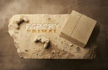 Ubisoft talla una PlayStation 4 en piedra para promocionar Far Cry Primal