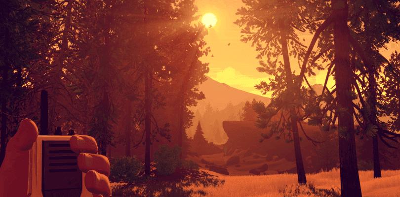Firewatch posibilita la exploración libre en su nueva update