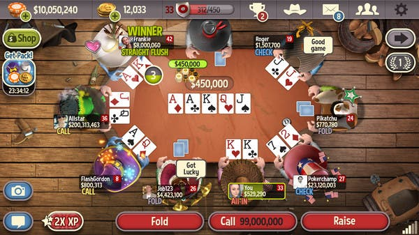 Governor of Poker 3 free to play steam