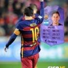 Leo Messi obtiene una Carta Héroe en FIFA 16 Ultimate Team