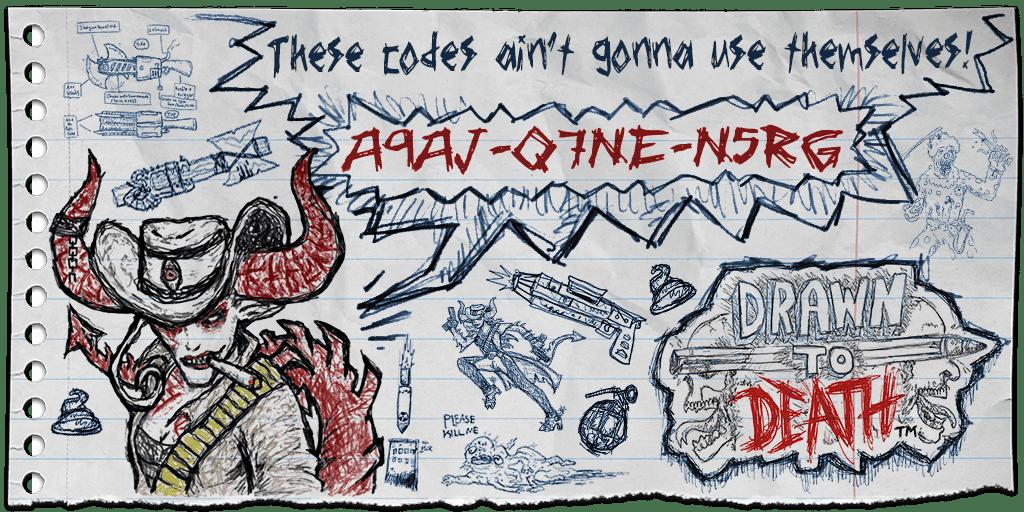 drawn to death code
