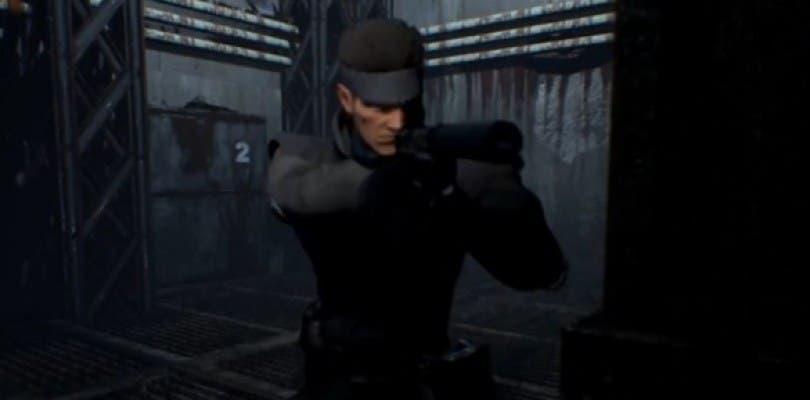 Se cancela el remake fan de Metal Gear Solid