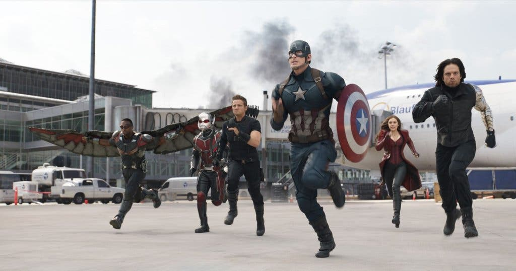 Areajugones Capitán América Civil War Equipo Capitán América