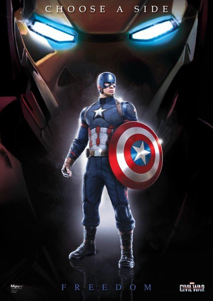 Areajugones Capitan America Civil War poster