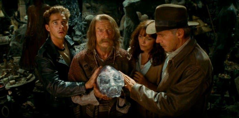 Resultado de imagen de Indiana Jones, y el Reino de la calavera de cristal