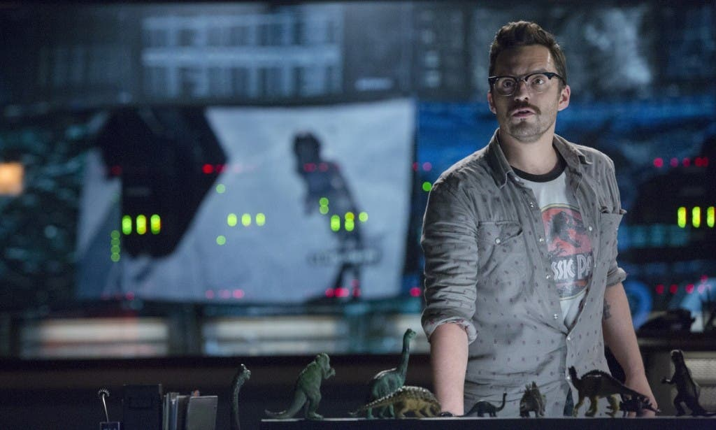 Areajugones Jake Johnson Jurassic World
