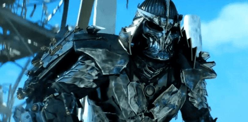 Primer vistazo al Shredder de Ninja Turtles: Fuera de las Sombras