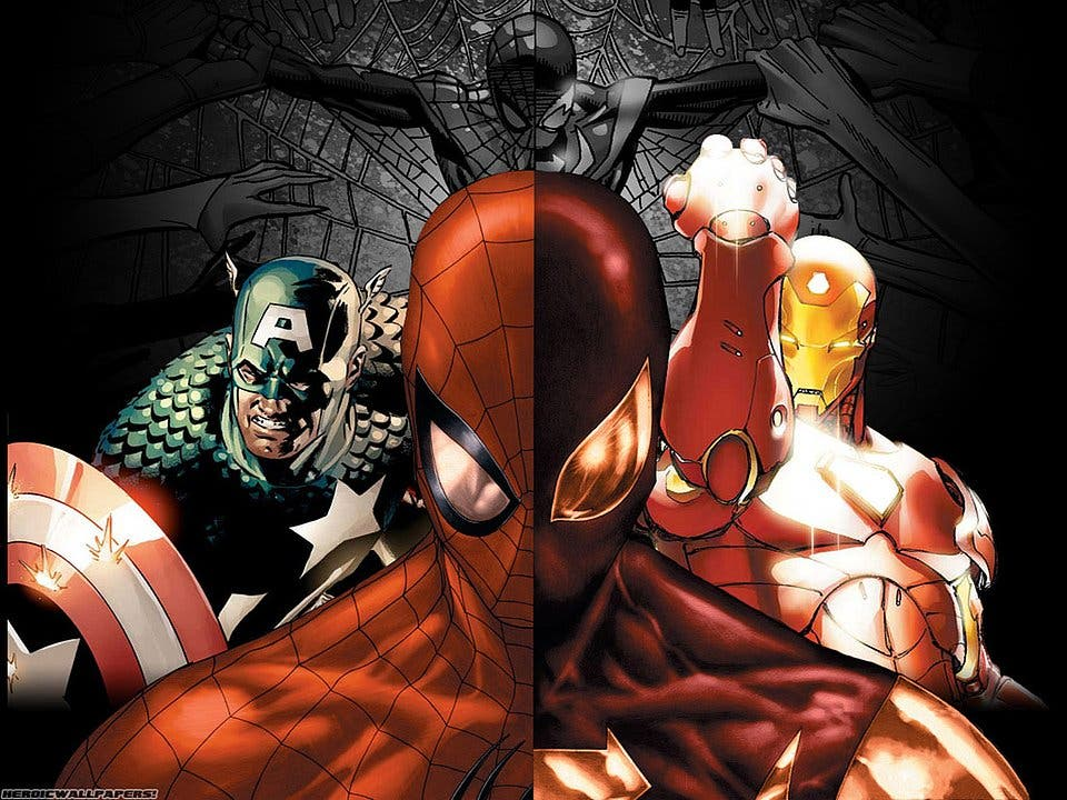 Areajugones Spider-Man Civil War