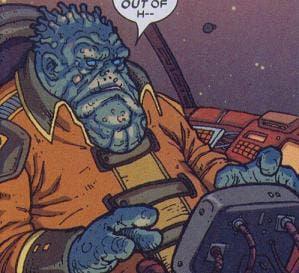Areajugones Tullk Guardianes de la Galaxia